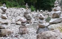 Steinmännchen am Halblech